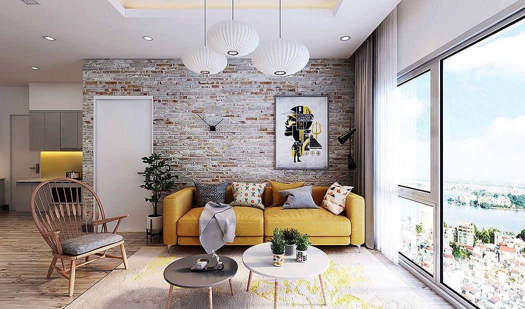 50 Clever Ways To Feature Exposed Brick Stone Walls インテリア リビング キッチン リビング