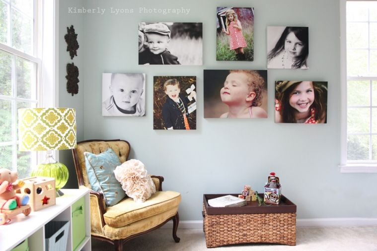 Mixing Black And White And Color Photos Gallery Wall Wall