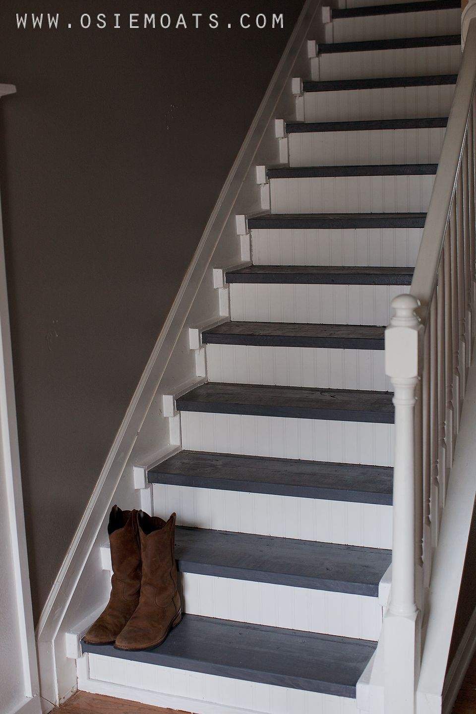 Osie Moats Diy Lifestyle Decorating Blog Diy 50 Stair