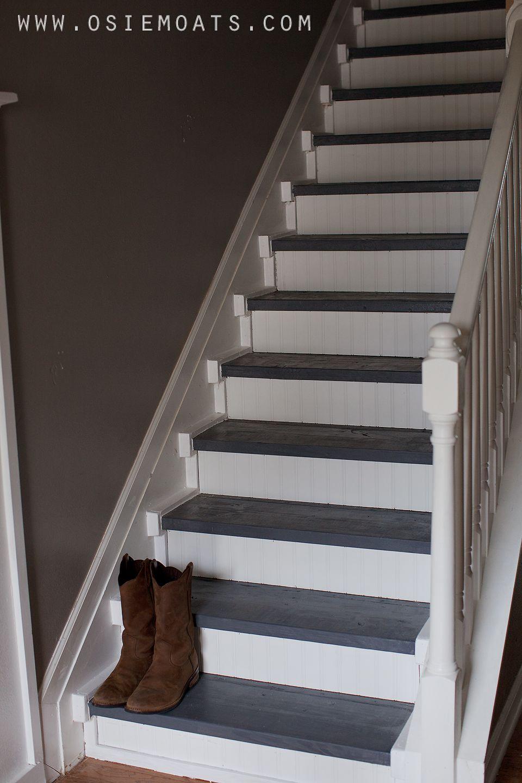 Lighting Basement Washroom Stairs: Osie Moats DIY,Lifestyle,Decorating Blog.: DIY $50 STAIR