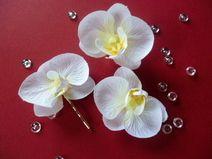 Haarschmuck zur Hochzeit-Orchidee