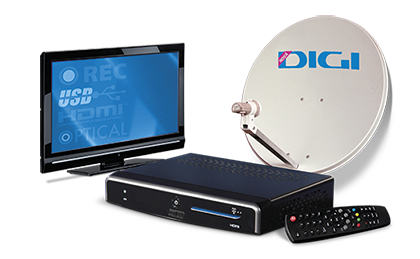 Satelitná TV - DIGI TV – programové balíky | Digi Slovakia