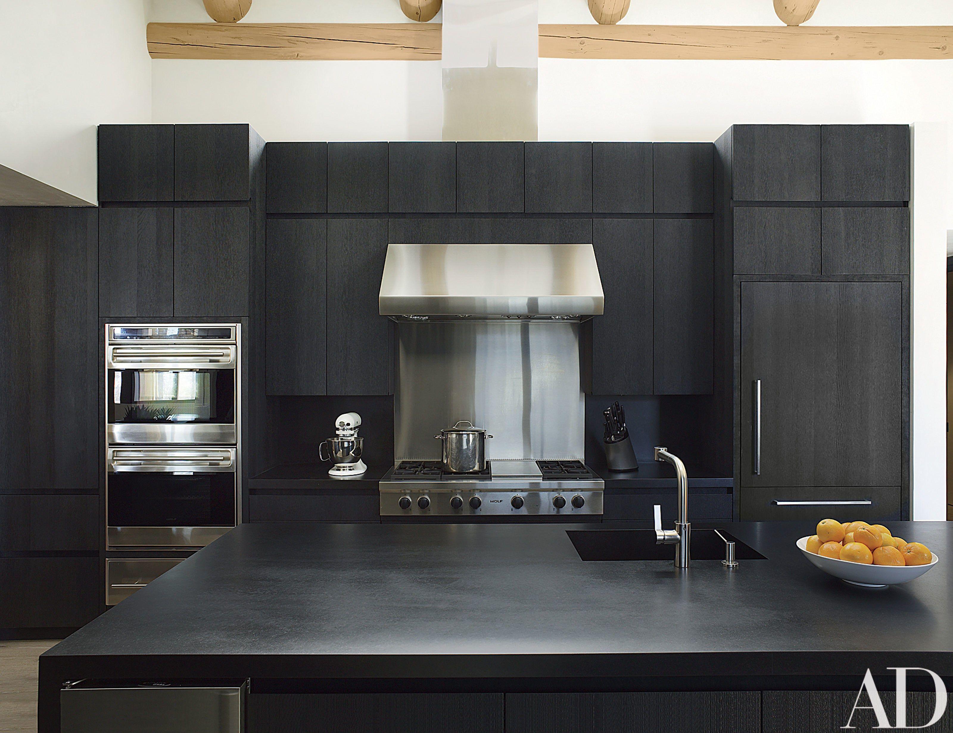 Look Inside A Contemporary Colorado Lodge  Architectural Digest Custom Colorado Kitchen Design Design Inspiration
