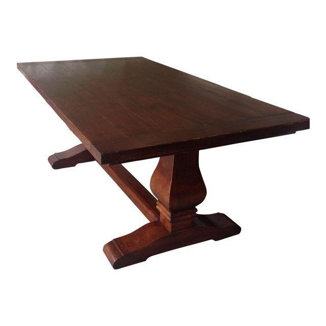 Fremarc Trestle Dining Table Furniture For Sale Pinterest - Fremarc dining table