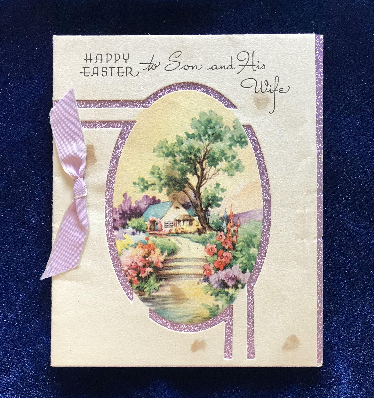 vintage easter cards for sale