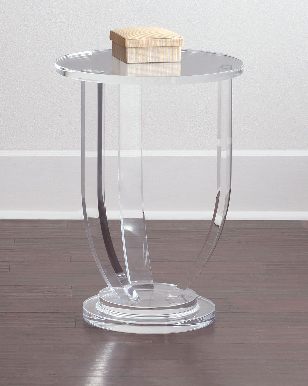 Interlude Home Bayberry Acrylic Side Table Acrylic Side Table Acrylic Table Acrylic Furniture