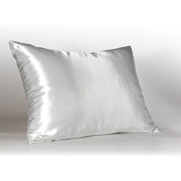 Satin Pillowcase For Hair Inspiration Sweet Dreams Luxury Satin Pillowcase With Zipper Standard Size Decorating Design