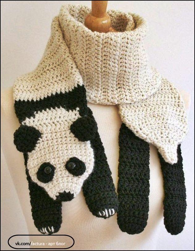 Lujoso Los Patrones De Crochet Libre Bufandas Encapuchadas Viñeta ...