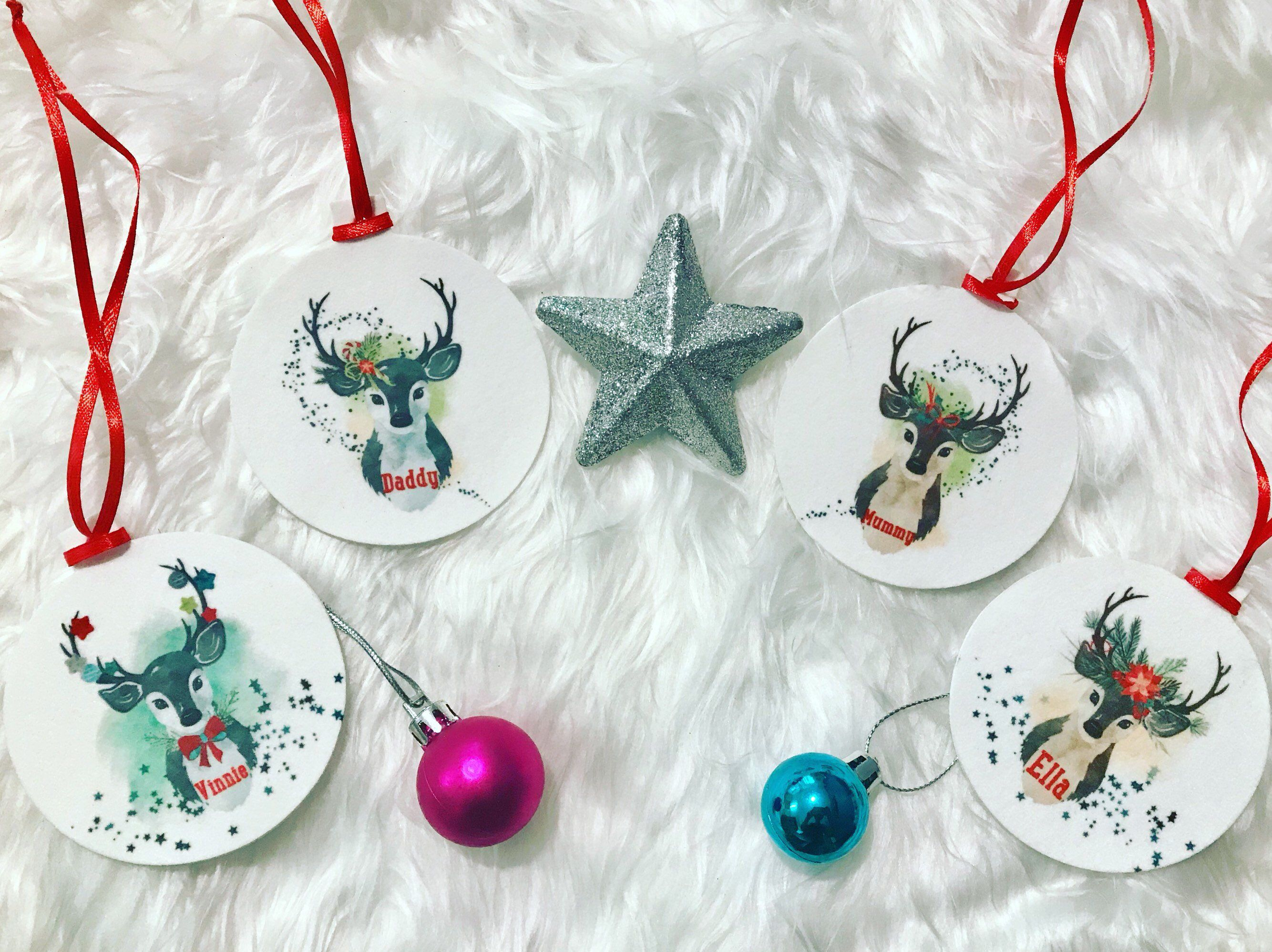 Excited To Share This Item From My Etsy Shop Personalised Christmas Decoration Chris Personalised Christmas Decorations Etsy Christmas Christmas Accessories