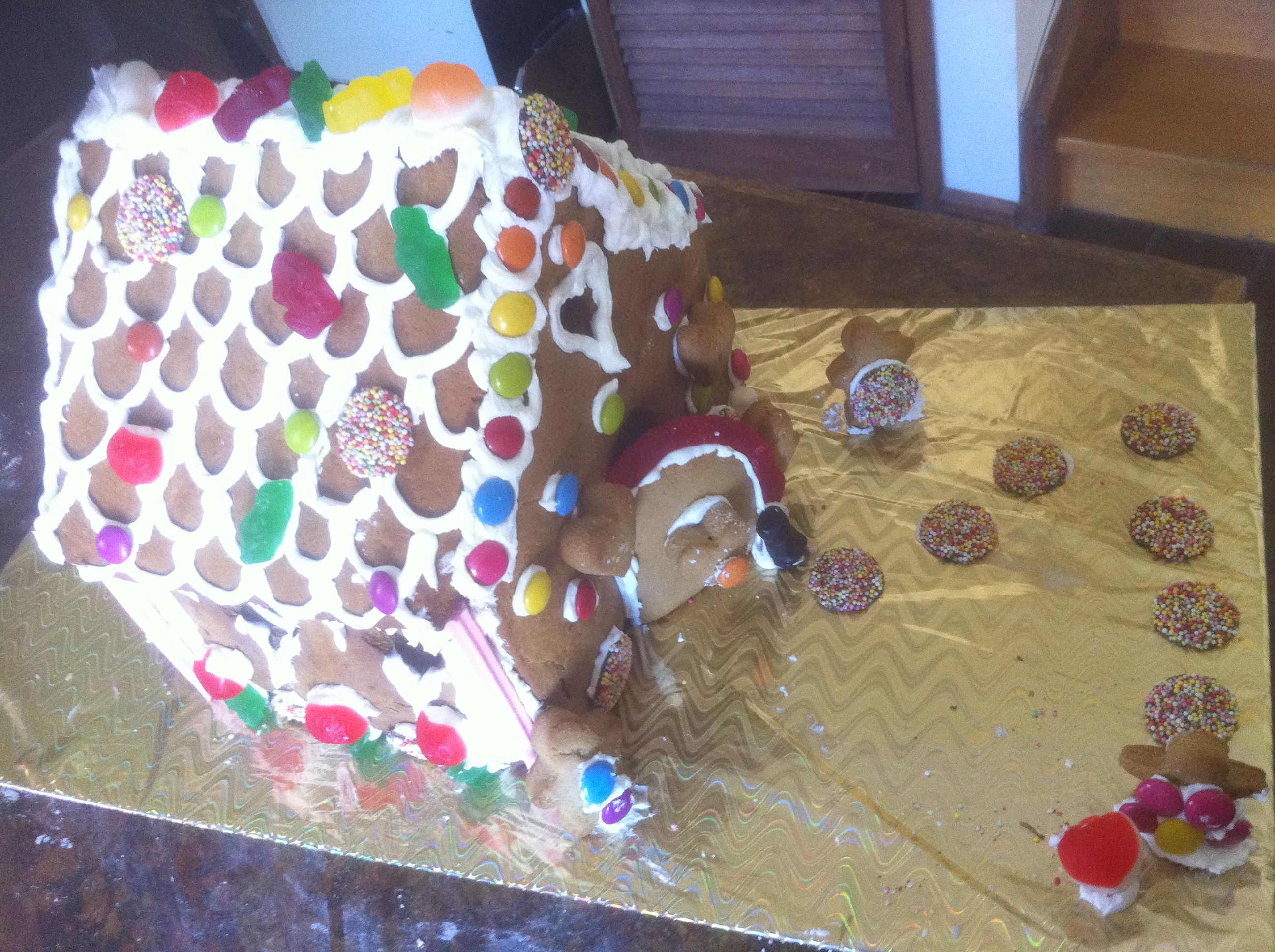 Ginger bread house I made for a friend :)