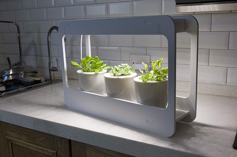 Mindful Design LED Indoor Herb Garden at