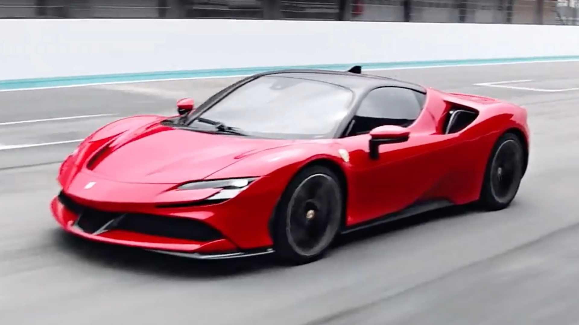 Ferrari Sf90 Stradale Unveiled A Hyper Hybrid With 986 Horsepower