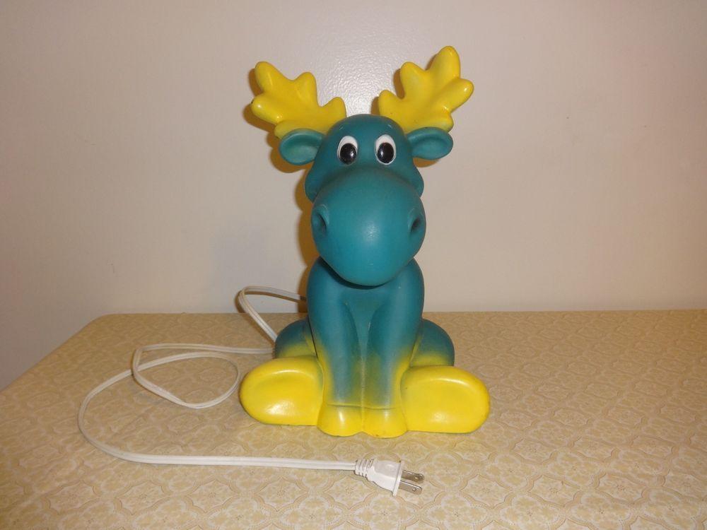 Emb Leuchten vtg moose tabletop mold l emb leuchten germany child s