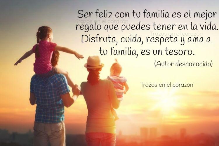 Ser Feliz Con Tu Familia Es El Mejor Regalo Que Puedes Tener En La Vida Disfruta Cuida Respeta Y Ama A Tu Familia Es Un Tesoro Aut Movie Posters Thumbs Up