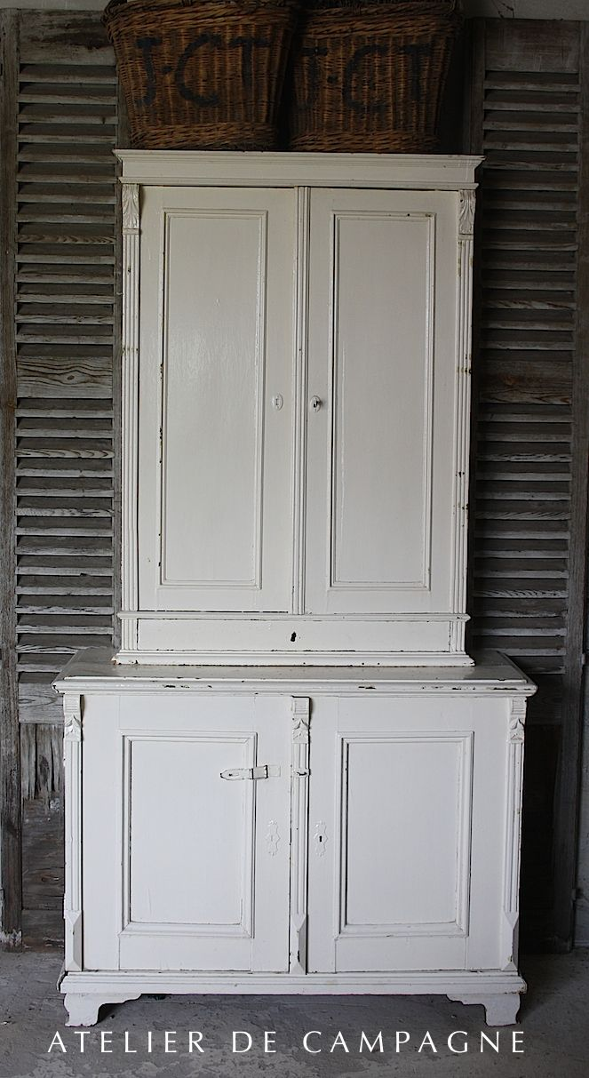 White Pharmacy Cabinet Early 1900 S