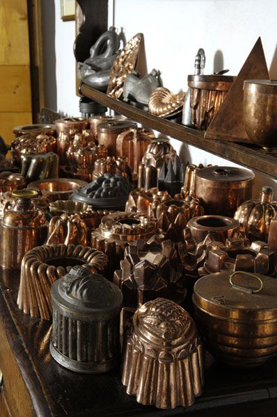 Copper Amp Tin Mold Collection Antique Copper Molds