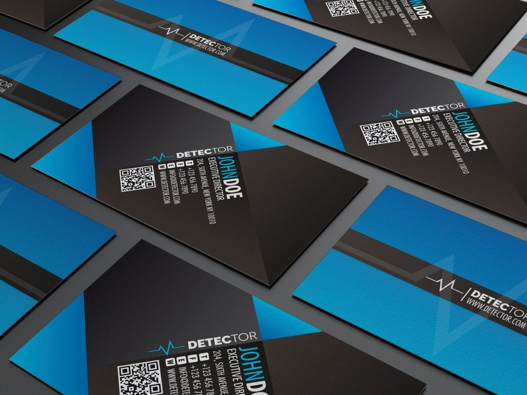 20 Examples of a Stylish Business Card Photoshop Template | GD282 ...