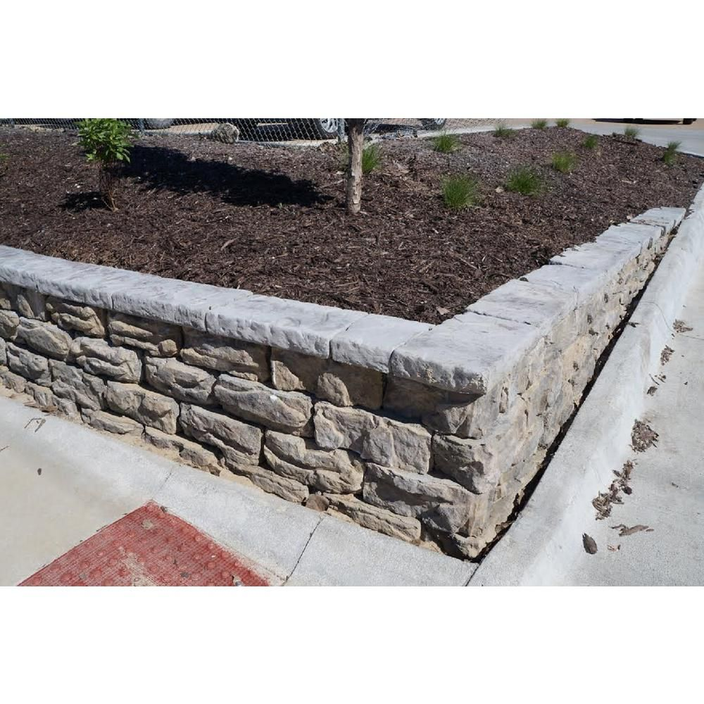 Natural Concrete Products Co Pantheon 6 In X 16 In X 8 In
