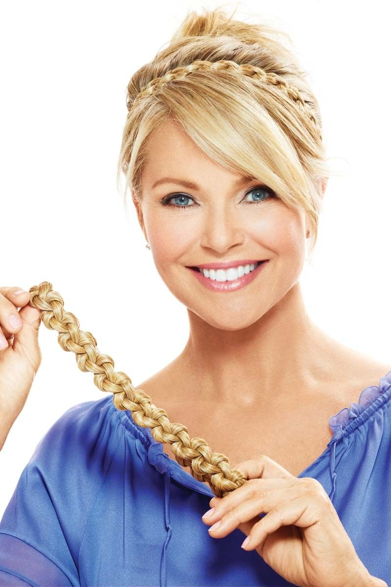 Thick Braid Headband Accessory by Christie Brinkley Wigs in 2018 ... 9c41ef0e1c9