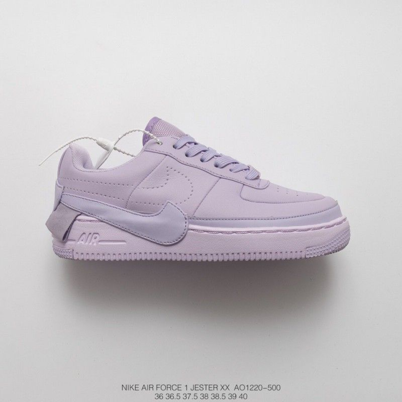 the latest 89643 b7b93 Goddess Hot Cake Fsr Nike Womens Af1 Jester Xx Violet Mist Lightweight Low  All-Match Sneakers Roland Purple Shedding in 2019   nike trainers street ...