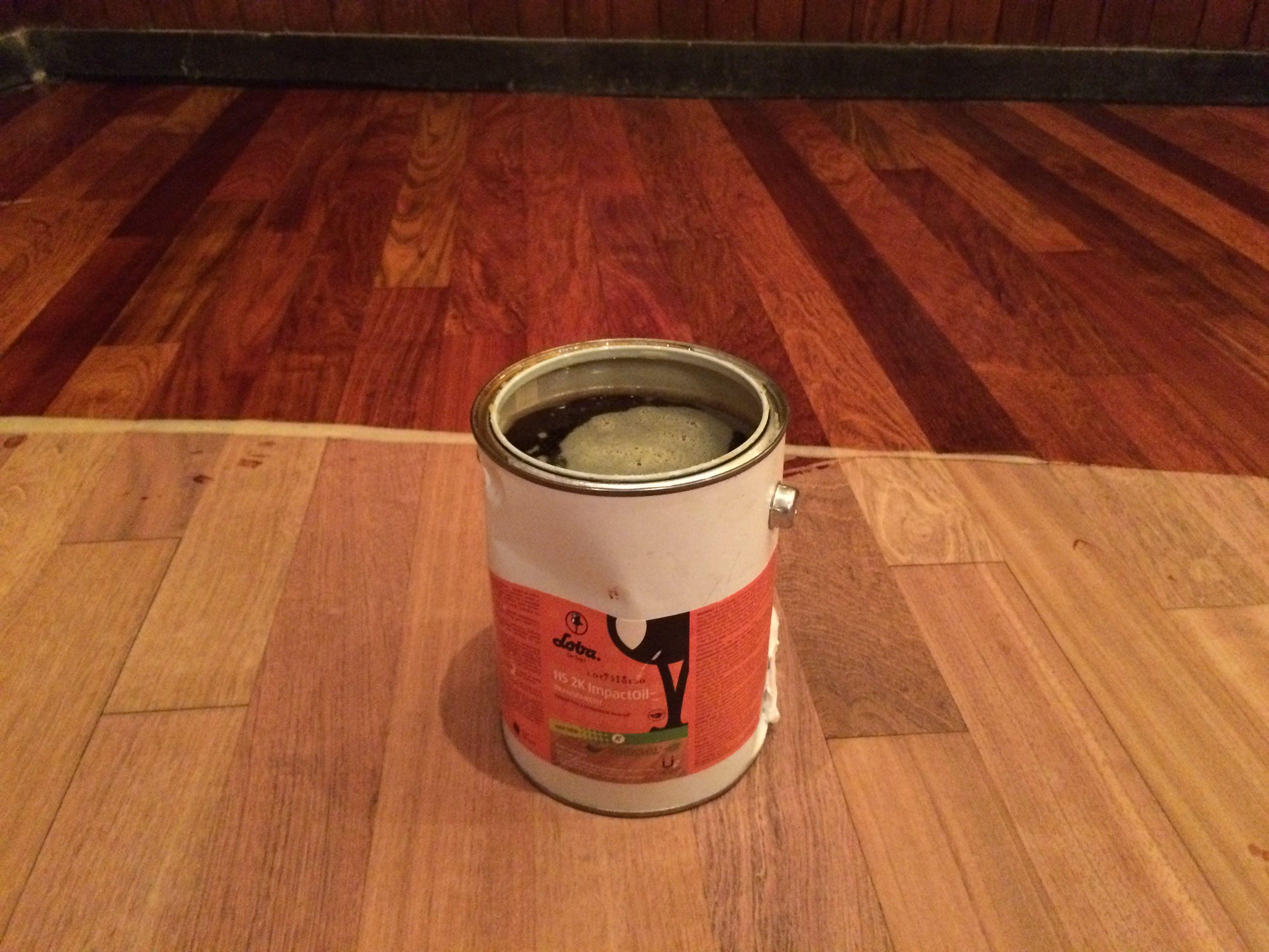 Loba 2k Impact Oil 1 Coat Hardwood Floor Finishing System