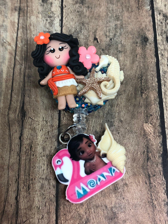 Baby Moana Clay Badge Reel