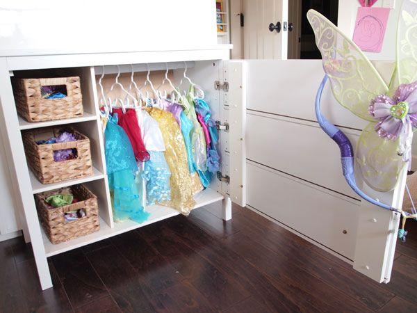 Charmant Ikea Dresser Turned Dress Up Closet | Cape27BLog.com