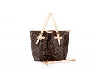 d7fe8654a3e1 Louis Vuitton M40146 Monogram Canvas Palermo GM Handbag