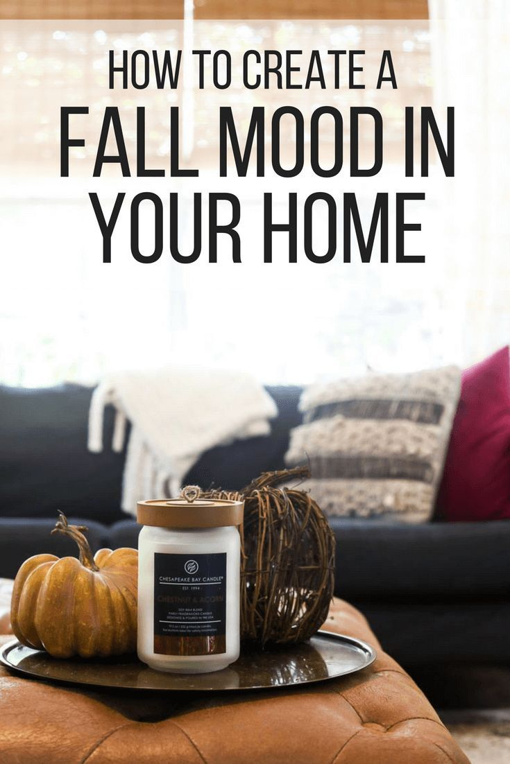 Ideas for how to make your home feel like fall. Fall decor, creating ...