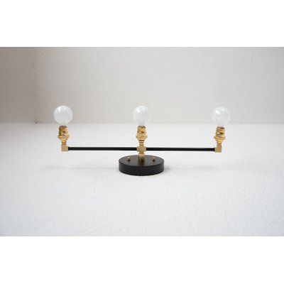 "Illuminate Vintage 3-Light Vanity Light in 24.25"" W"