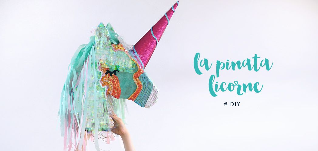 cr er votre pinata licorne pour l 39 anniversaire de votre enfant diy pinterest pinata. Black Bedroom Furniture Sets. Home Design Ideas