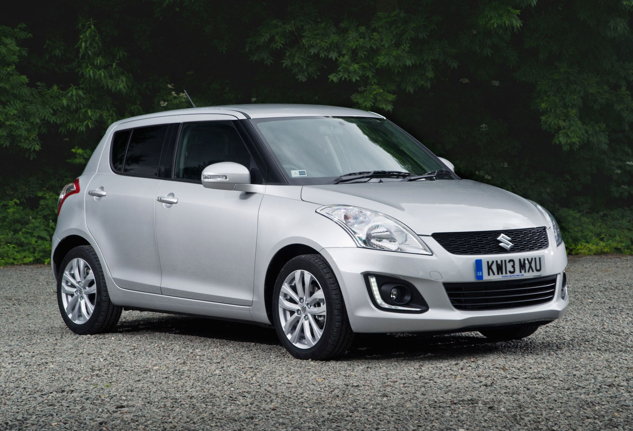 Suzuki have officially revealed the 2014 swift which gets a minor facelift the swift gets a new front bumper a revised front grille and an upper led