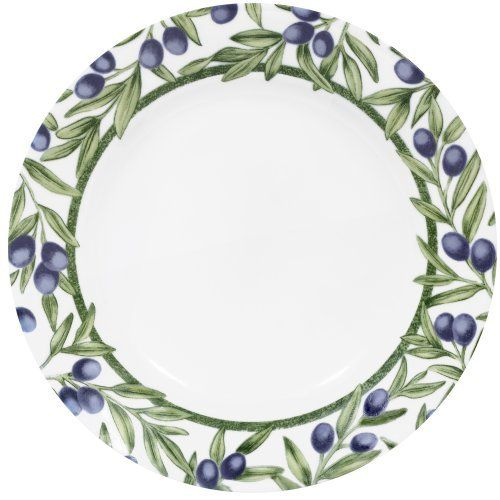 Corelle Lifestyles 8-1/2-Inch Salad Plate Olive Branches by Corelle. $8.95. Dishwasher safe for long lasting patterns. Break and chip resistance for ...  sc 1 st  Pinterest & Corelle Lifestyles 8-1/2-Inch Salad Plate Olive Branches by Corelle ...