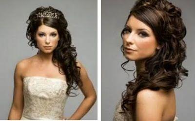 Maybe my wedding hair...