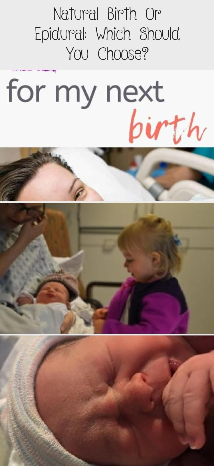Natural Birth Or Epidural: Which Should You Choose? - health and diet fitness, #babycarequotes #Birt...