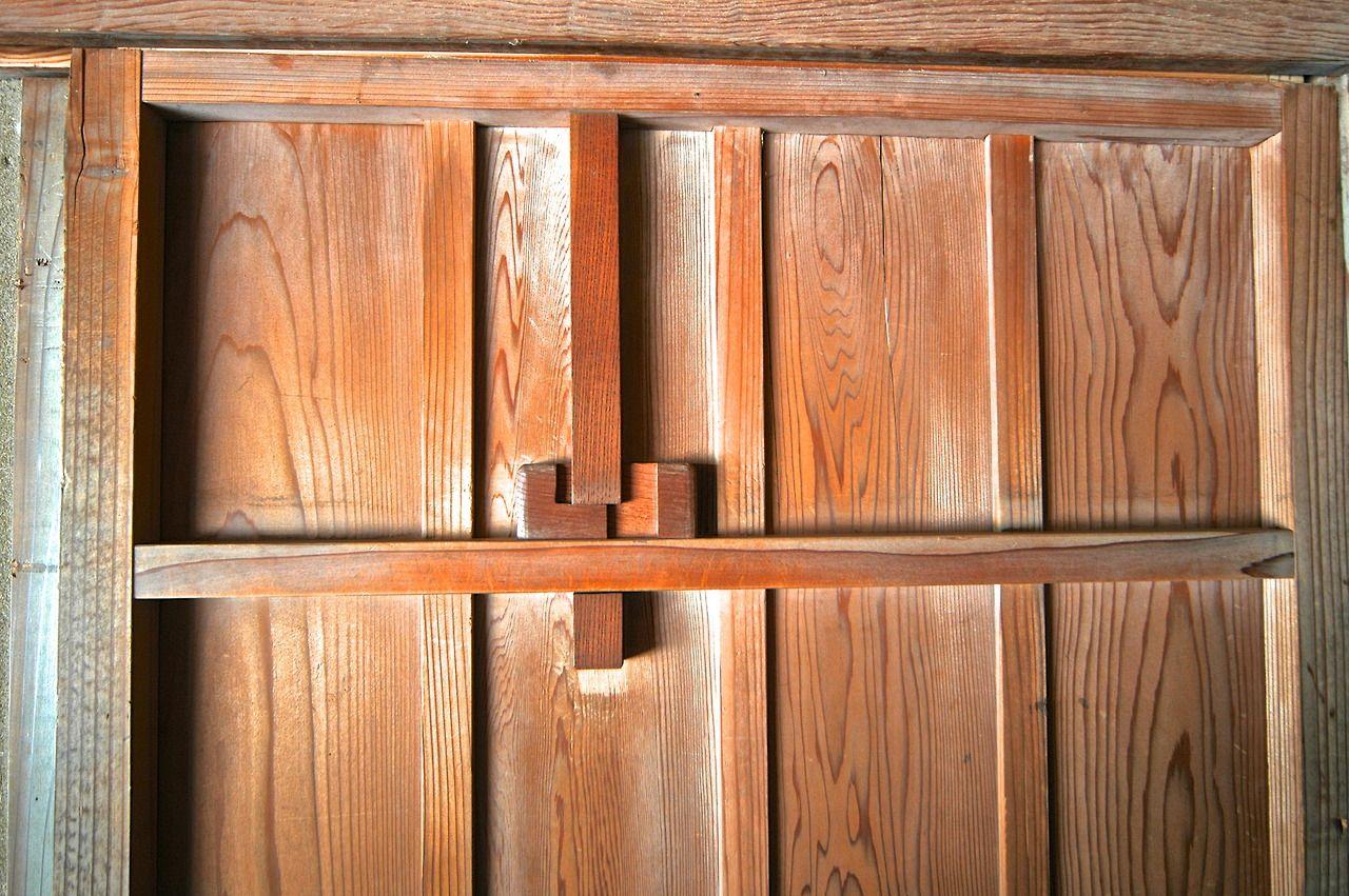 redhousecanada: Sliding Door Latch | Wood pallets, Tall ...