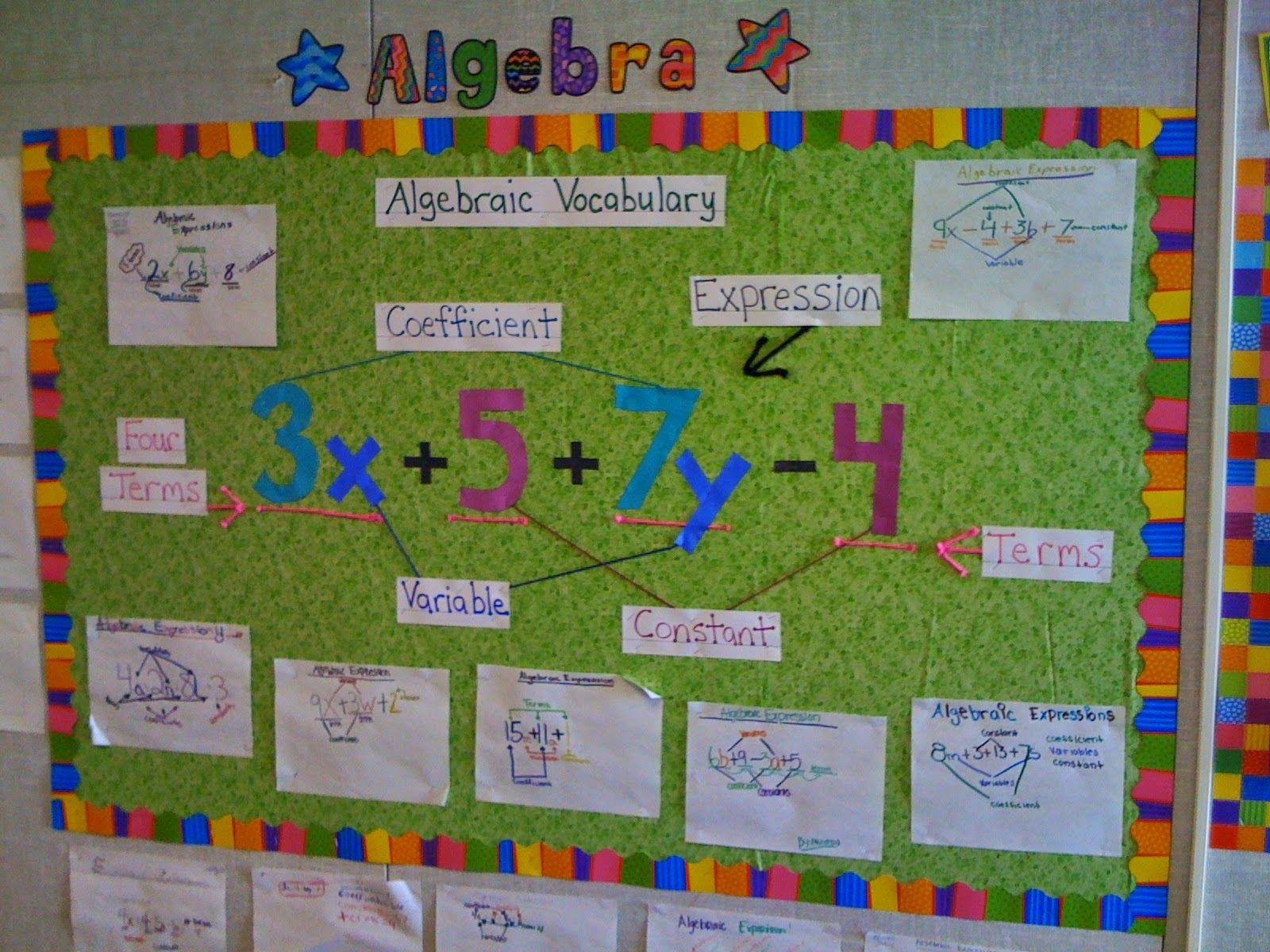 Classroom Ideas Maths : Love this math bulletin board using creative teaching