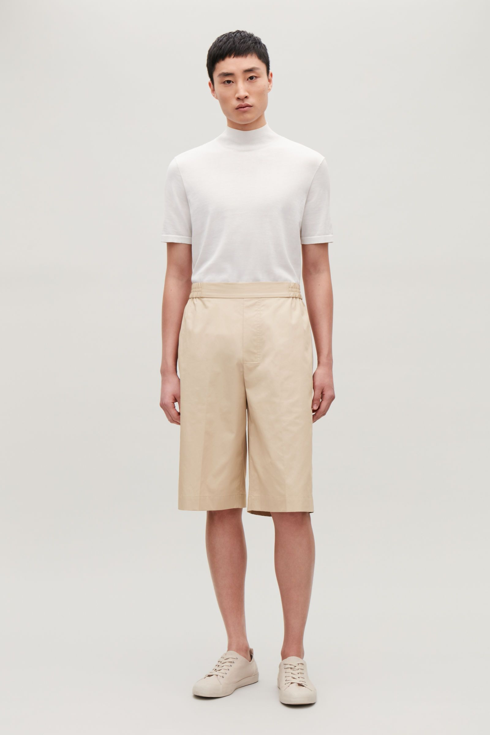 Cos green dress 2018  zoomed image  Male Wardrobe  Pinterest  Cotton shorts Cotton and