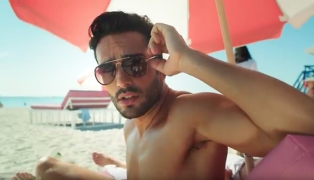 Find Out Andre Alex Joins Ricky Martin S New Vid Ft Maluma Fashionably Male Ricky Martin Male Male Models