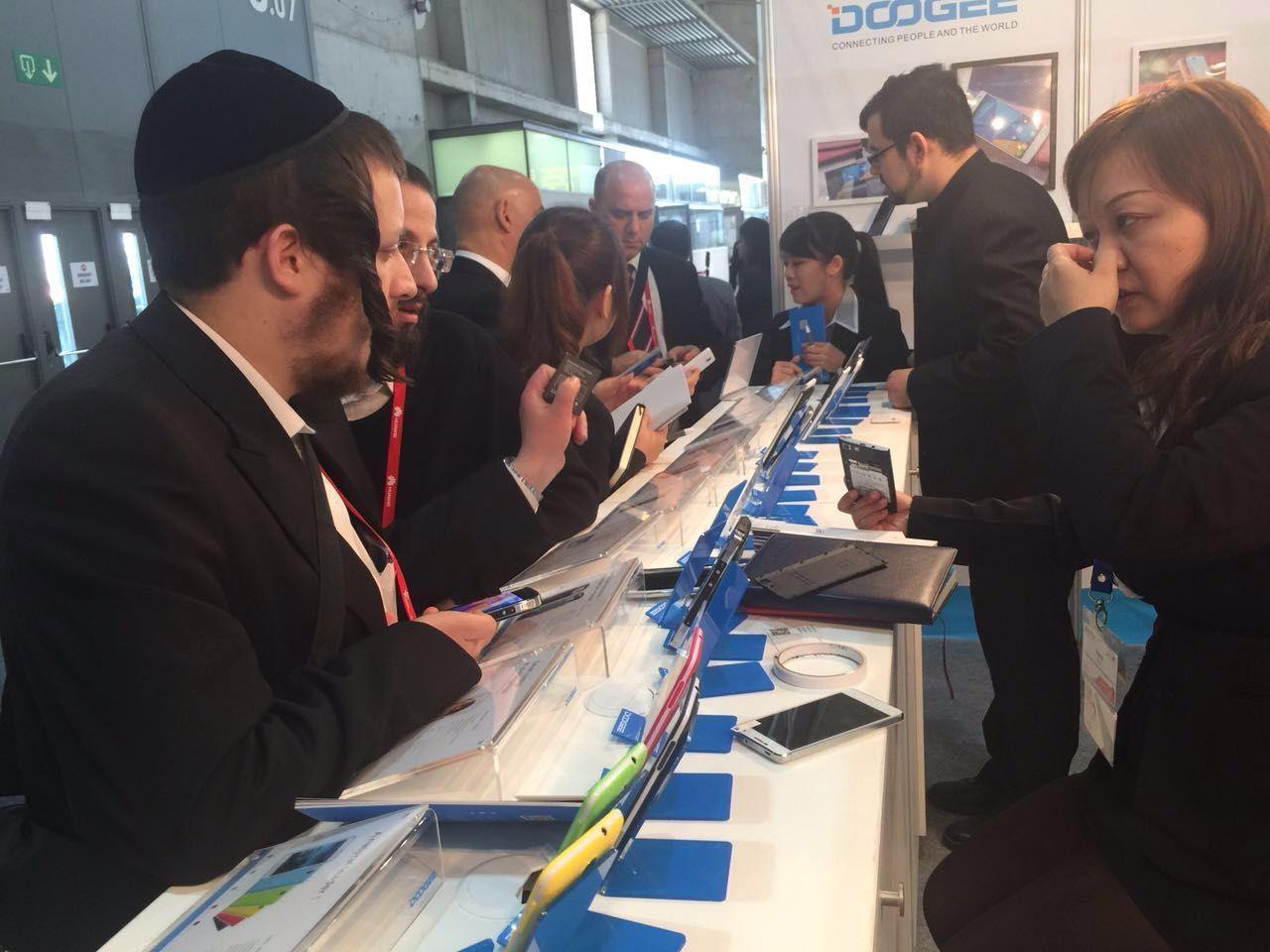 DOOGEE in GSMA MOBILE WORLD CONGRESS 2015 World congress