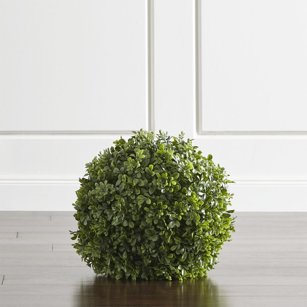 "Topiary Ball 12"" - Crate and Barrel"