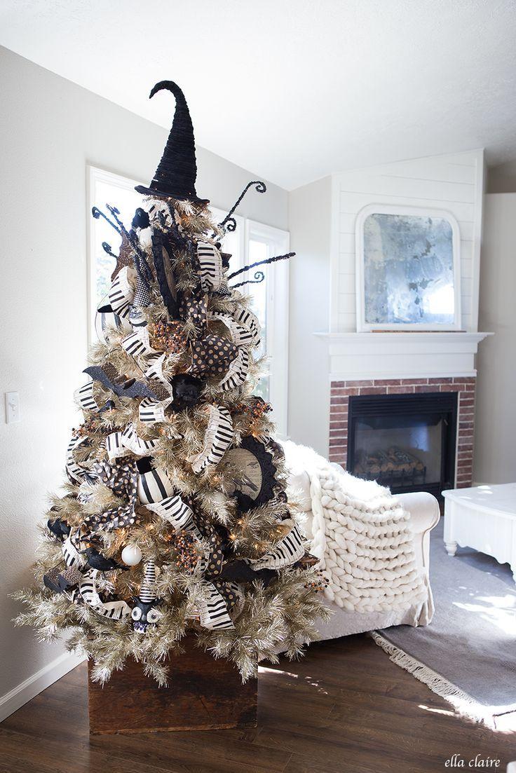 Halloween Decor Halloween trees, Vintage halloween and Halloween - halloween tree decoration