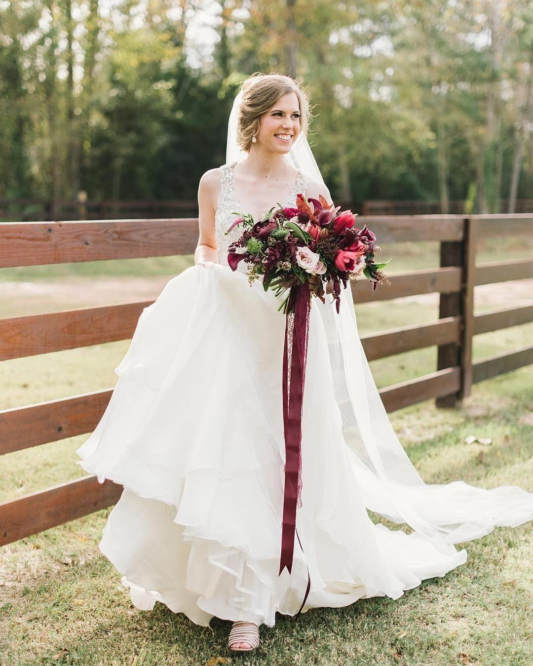 Fall Inspired Bridal Look   Photo: Sarah McKenzie Photography   Hair ...