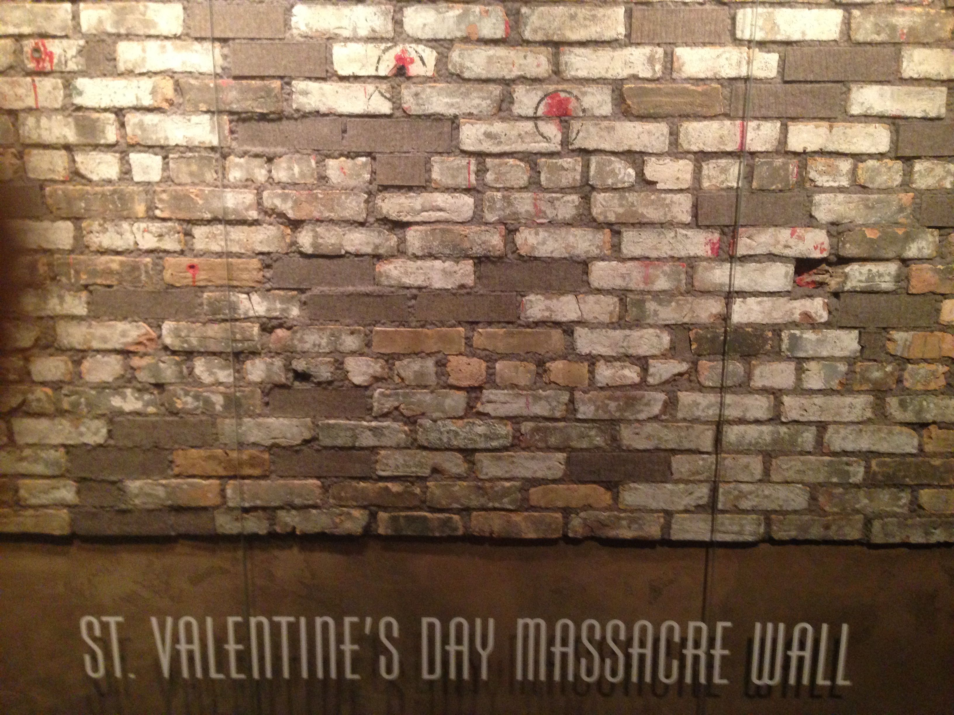 To Me This Was The Most Macabre Exhibit At The Las Vegas Mob Museum