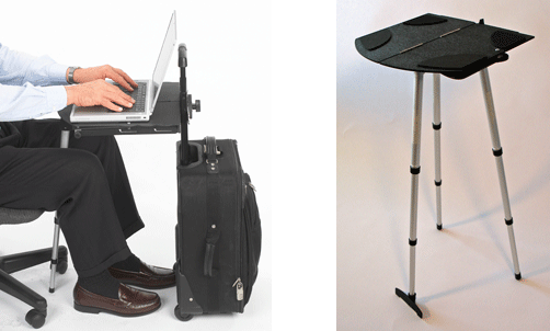 Portable Laptop Desks Laptop Stands And Laptop Tables To Use On Trips In Meetings In Airports And Cars Sittin Portable Laptop Desk Laptop Table Mobile Desk
