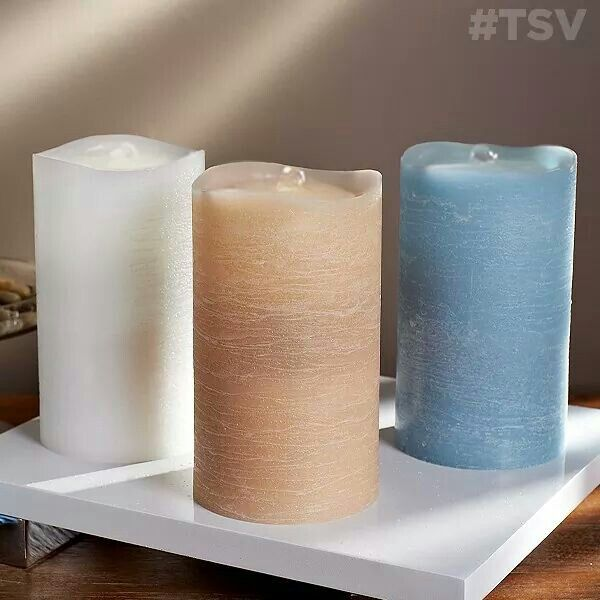 Qvc Flameless Candles Classy Flamless Candle Wwater Feature Qvc  For The Home  Pinterest Review