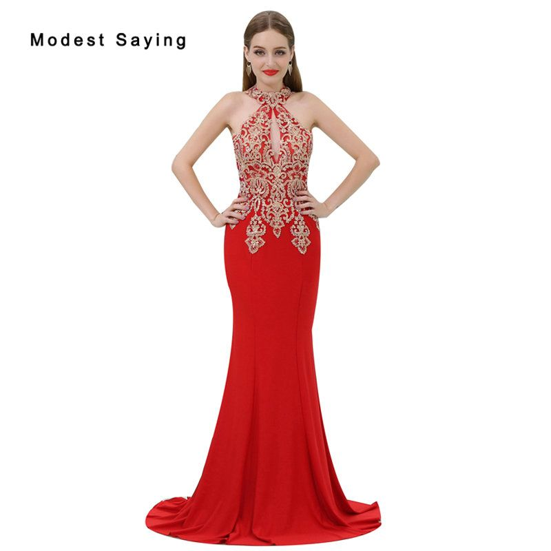 053b345d6d9 Find More Evening Dresses Information about 2018 Christmas Red Lace Evening  Dresses with Beading Sexy See Through Top Evening Gowns Mermaid Party Prom  Gowns ...