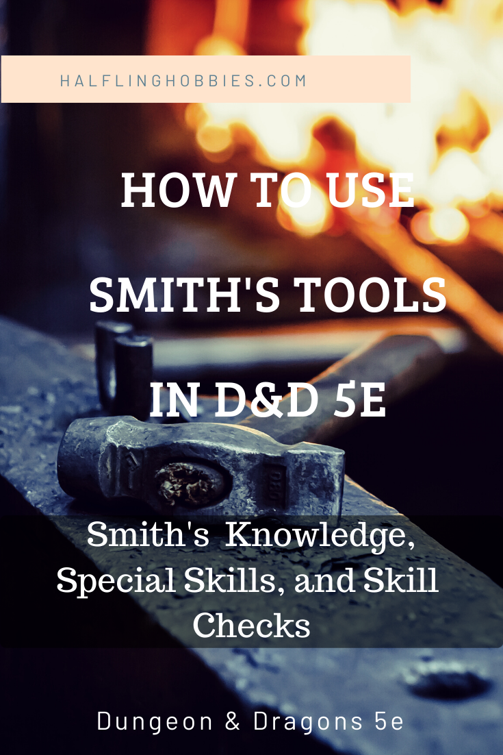 Smith S Tools D D 5e Smith Tools List Of Tools Will Smith