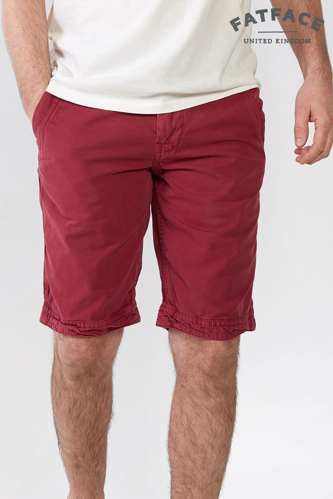 40eaef1667 Mens FatFace Pink Cove Flat Front Short - Pink   Products in 2018 ...