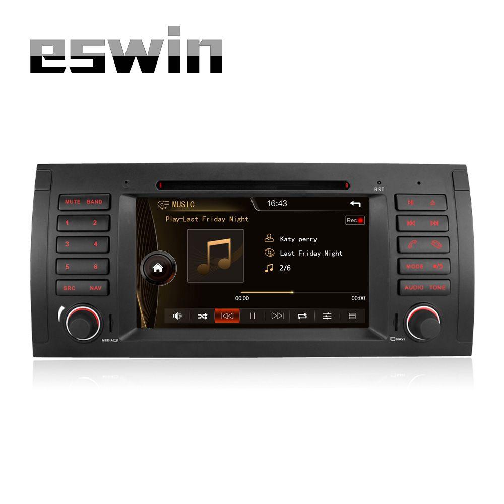 Auto radio gps navigation 7 car dvd player for bmw e39 5 series 97